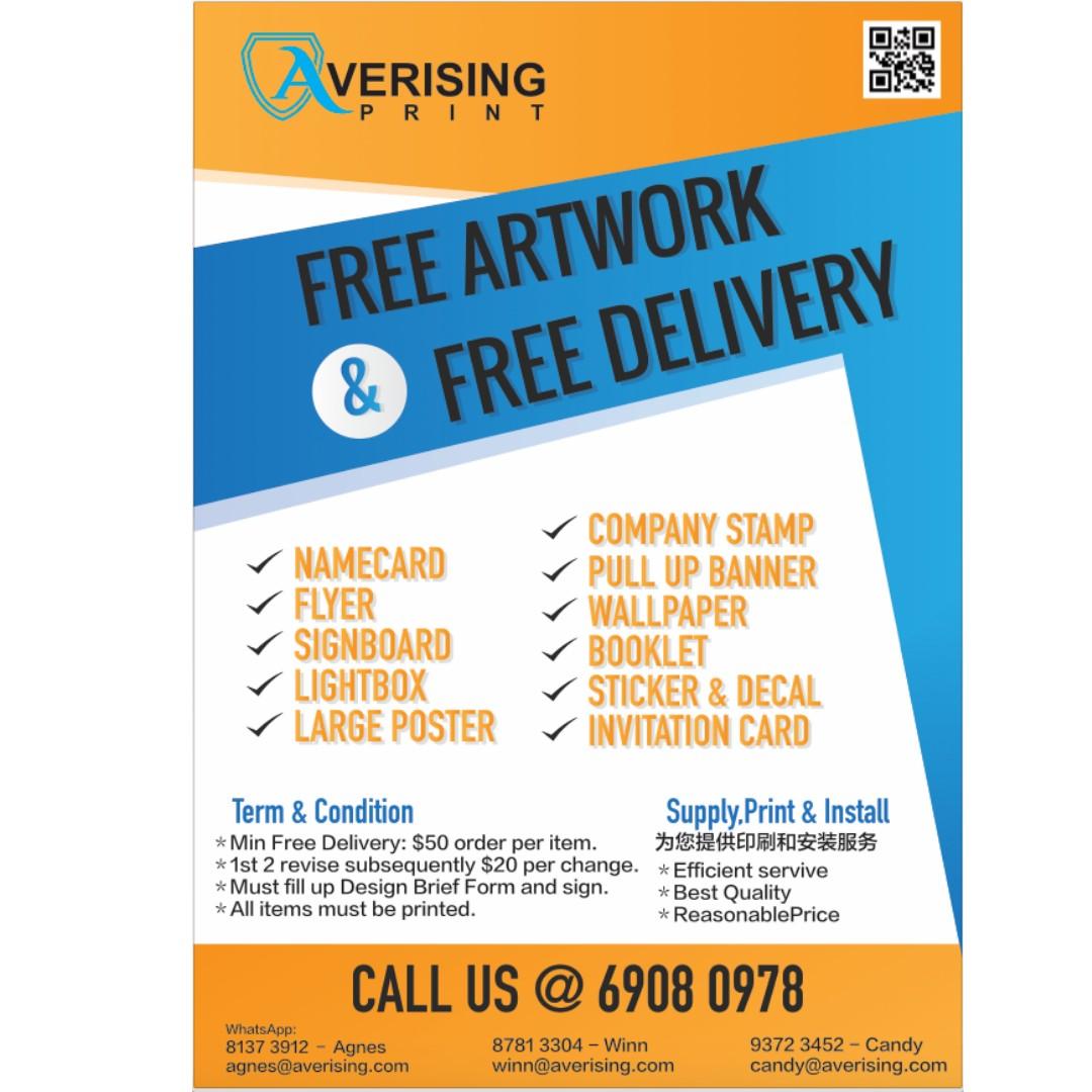 Printing service design craft art prints on carousell