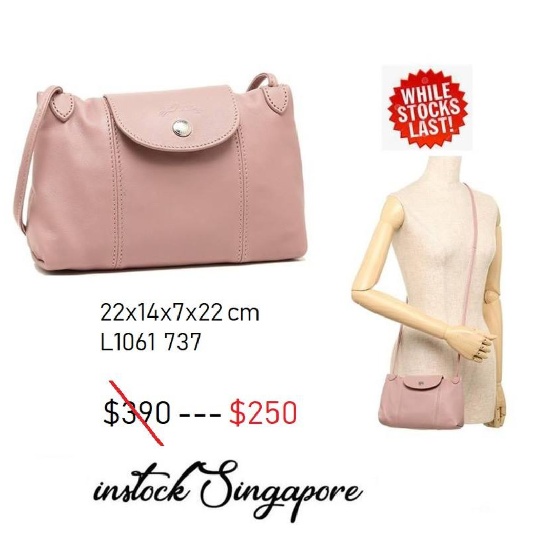 42a51b0534f6 READY STOCK authentic new LONGCHAMP LE PLIAGE CUIR CROSS BODY   shoulder bag  Full leather series 1061
