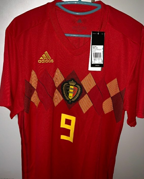 reputable site 5db2c 25f41 Romelu lukaku jersey belgium, Sports, Sports Apparel on ...