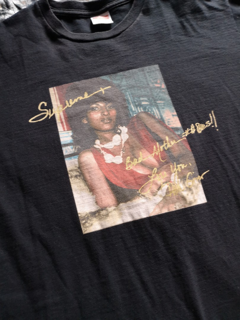 bd85e5f5 Supreme Pam Grier Tee, Men's Fashion, Clothes, Tops on Carousell