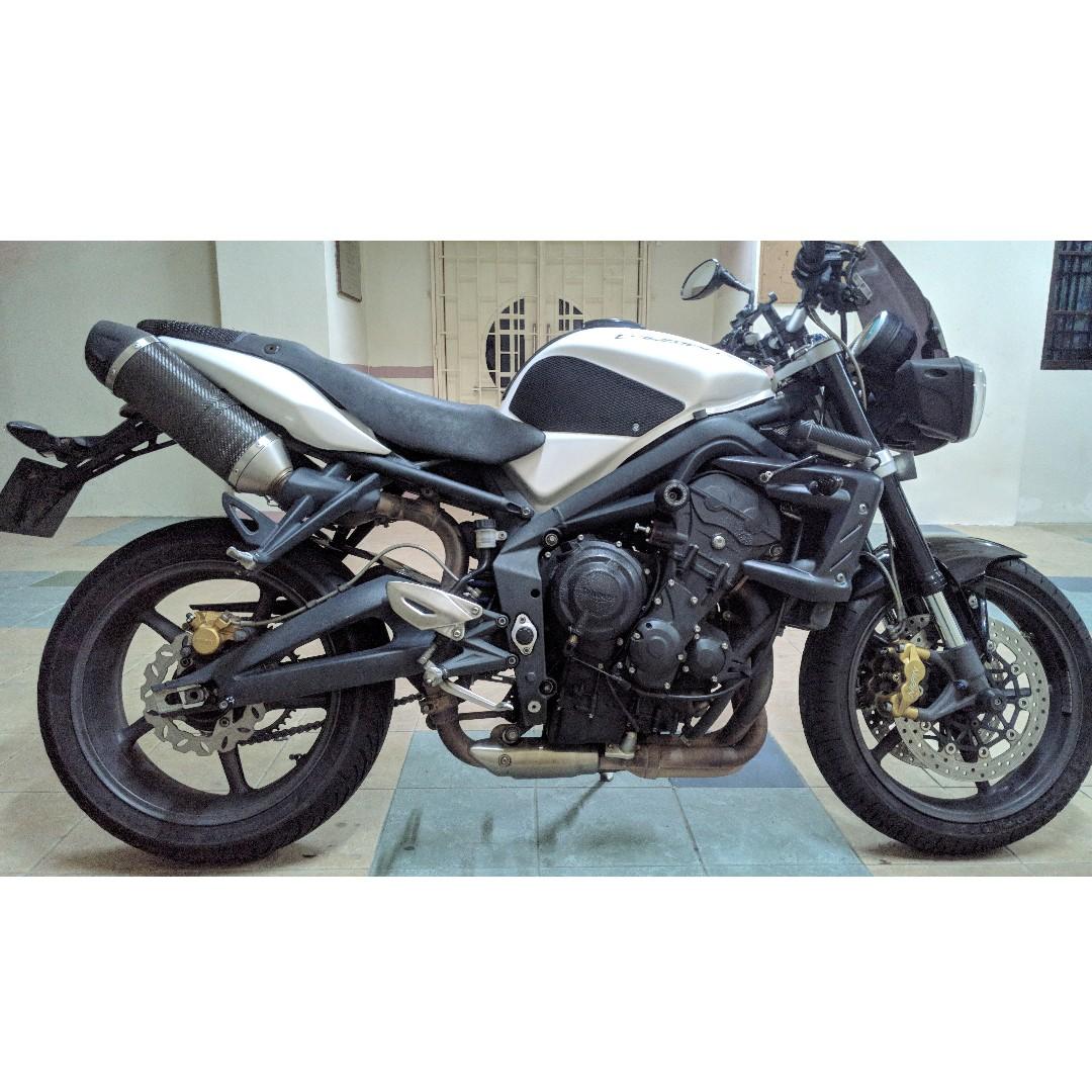 Triumph Street Triple R 2012 Motorbikes Motorbikes For Sale Class