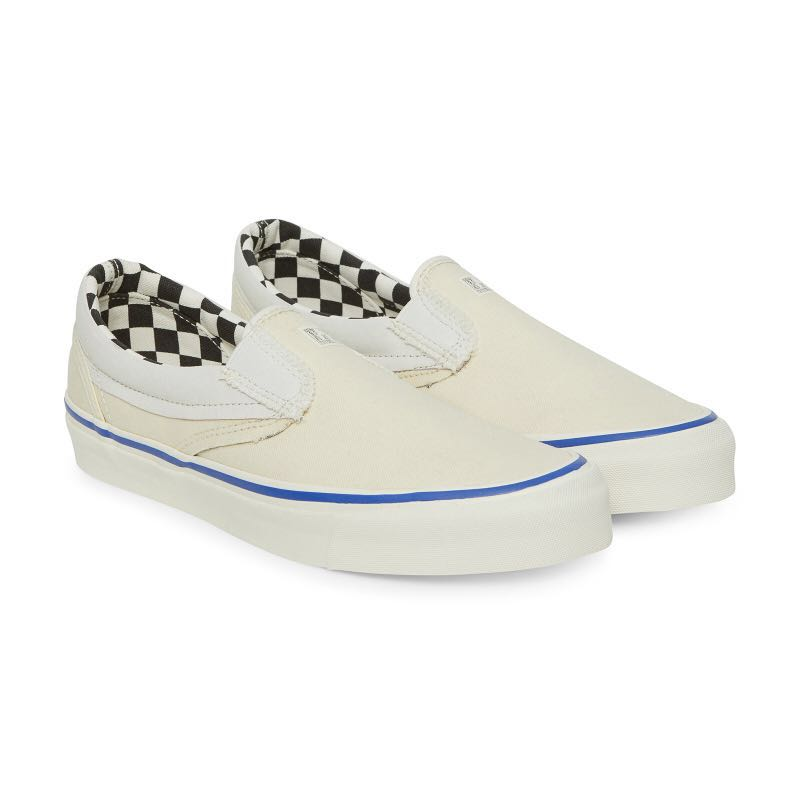 fb47798ef0 Vans Vault UA OG Slip-On LX Inside Out cream white marshmallow ...