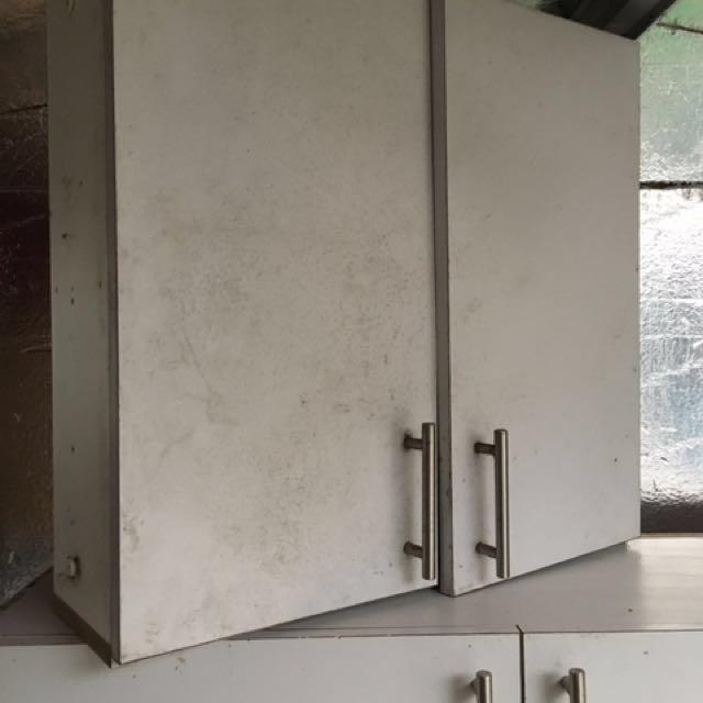 White Kitchen Cabinets DIY