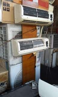 Preown overhualed Aircon units