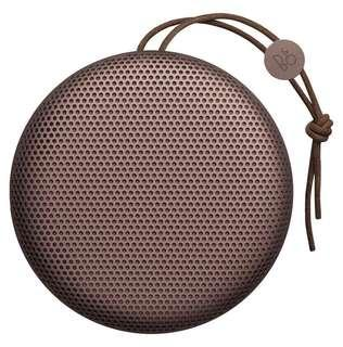 🚚 Bang & Olufsen BeoPlay A1 Portable Bluetooth Speaker (Deep Red/Black)