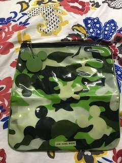 Mickey Mouse Disney Multipurpose Zipped Bag #FEBP50