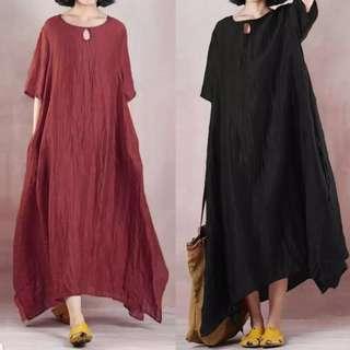 🚚 [PO] Boho Maxi Kaftan Dress (69)