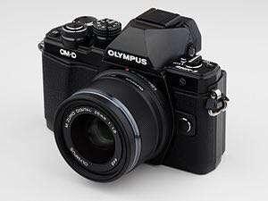Olympus OMD 10 mark III with lensa Kit 14-22mm