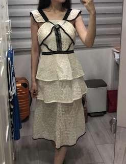 🚚 超美蕾絲sp款長洋裝