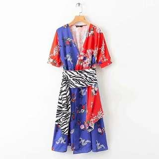 Femme Flower Printes Dress