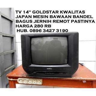 """Goldstar 14""""kwalitas japan bagus remot katapang Kab Bandung"""