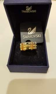 Swarovski Ring  三連介