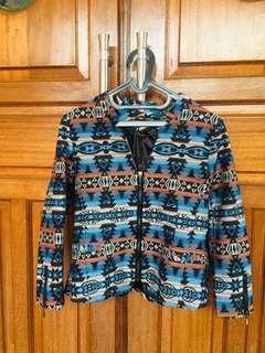 Blazer Motif Batik Songket