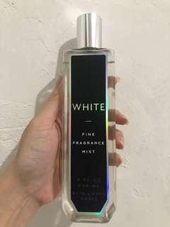 Bath and bodyworks white body mist