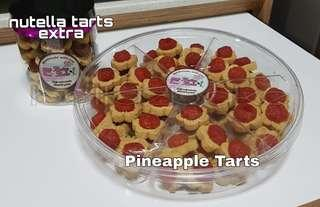 Pineapple Tarts SOLD Nutella tarts extra