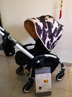 FINAL REDUCTION!! Bugaboo Bee Plus with Limited edition Andy Warhol Canopy