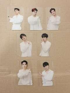 Monsta X We Are Here Transparent Photocard