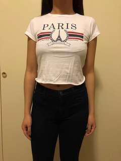 Rebel Sugar Paris Shirt (cropped)