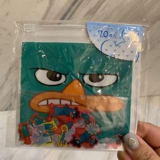 東京迪士尼 鴨嘴獸泰瑞 貼紙