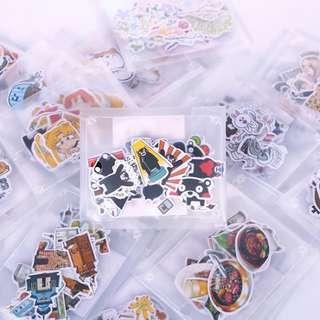 手帳貼紙 熊本熊/櫻桃小丸子/蠟筆小新/蛋黃哥/美少女戰士