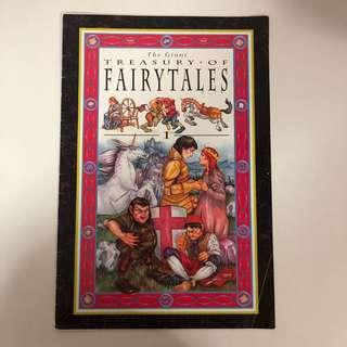 The Giant Treasury of Fairytales ( Big Book )