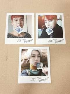 Monsta X Are You There Individual Polaroid