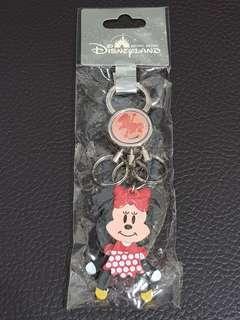 ✡可換物✡迪士尼精品耀匙圈-Q版米妮(有雷標)