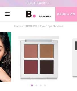 B. By Banila Eyecrush Shadow Palette