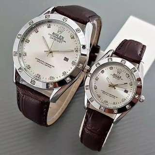 Jam tangan couple rolex ( not ori )