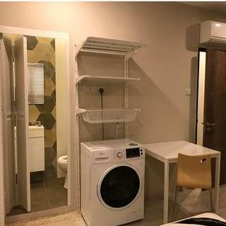 3 Studios ($1,150, $1,450 and $1,550) for Rent at Geylang , 5 mins from Aljunied MRT Station, Fully Furnished With Toilet A/C, Washing Machine, Cooker