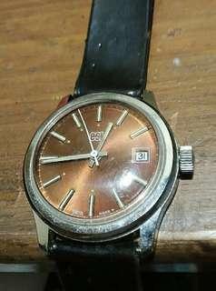 Vintage manual wind kunci EST watch