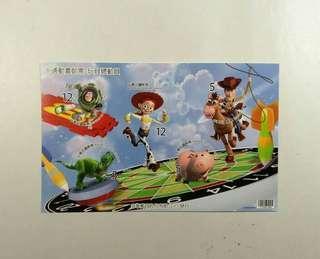🚚 全新-玩具總動員-卡通郵票a2