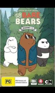 *Looking For* We Bare Bears Seasons 1-3 DVD