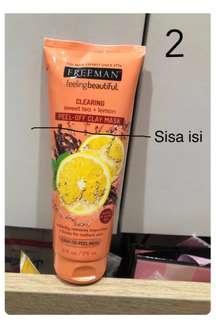 Freeman - Sweet Tea and Lemon Peel Off Mask