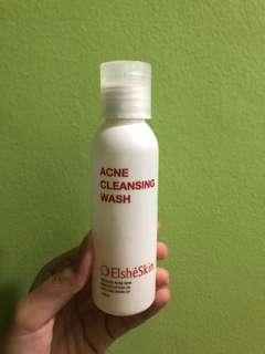 Acne cleansing wash