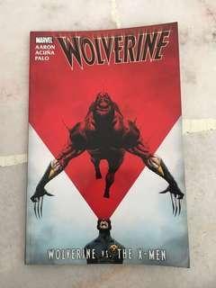 Wolverine vs xmen