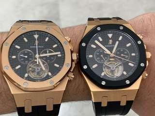 AP rose Tourbillon one is limited , the other one without