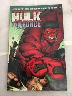 Red hulk vs xforce
