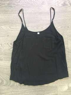 Urban outfitters black cami size small