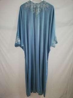 Preloved Caftan in Blue