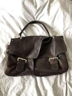 Genuine Leather Slouchy Purse
