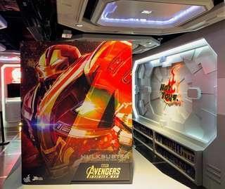 HotToys Infinity War Hulkbuster PPS005 全新未開啡盒 可換未開Thanos