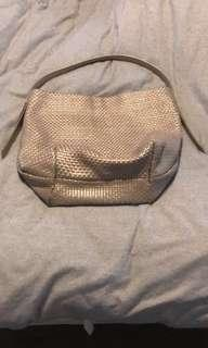 Cole Haan leather woven purse