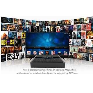 Android TV box 2gb ram, 16gb internal