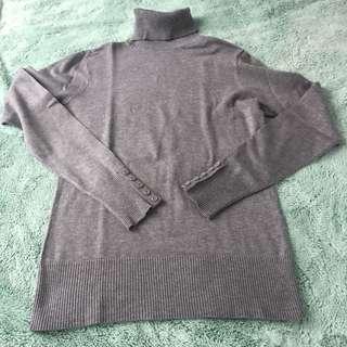 Gray Turtleneck sweater S