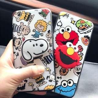 Case iPhone, Oppo & Xiaomi + Pop Socket