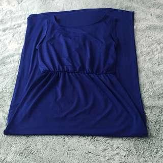 Maxi Dress Blue XS