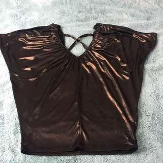Guess gold top XS