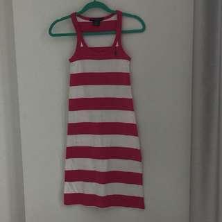 Ralph Lauren pink dress XS