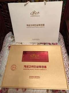 北韓精裝 奢華禮盒
